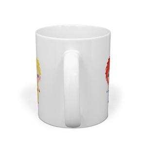 ちみキャラ六人衆マグカップ(文字無しver)