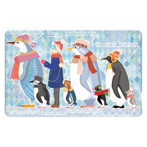ペンギン達のICカードステッカー