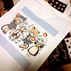 【goods】けもみみキャラトートバッグ
