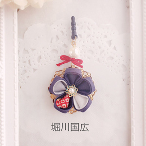【土方刀】刀剣乱舞イヤホンジャック/ストラップ