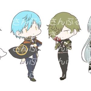 【刀剣乱舞】 レア4アクリルキーホルダー