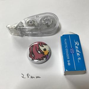 缶バッチ『結城秋葉』