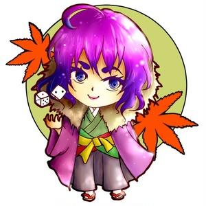 楓凜堂アクリルキーホルダー【岸堂セット】