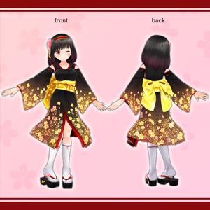 オリジナル3Dモデル『華乃子(かのこ)』