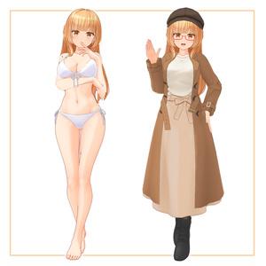 オリジナル3Dモデル「ジュリア」