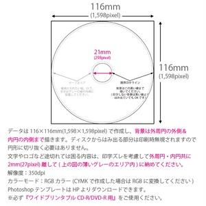 CD-R/DVD-R+データ書込み+盤面印刷