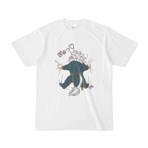 スノウさんのだいしゅきホールドTシャツ。