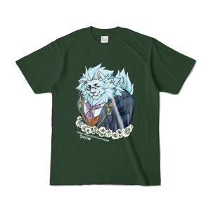 【放サモ】スノウさんTシャツ、白詰草。