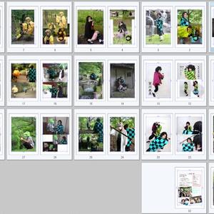 鬼滅の刃コスプレ写真集「紅蓮の絆」