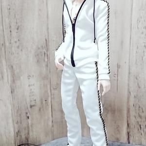 Smart Doll  セットアップジャージ 白×黒