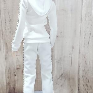 Smart Doll  セットアップジャージ白×白