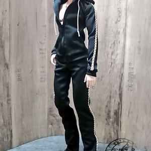 Smart Doll  セットアップジャージ 黒×白