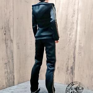 Smart Doll  セットアップジャージ 黒×黒