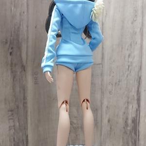 Smart Doll タイトシルエットジャージ ブルー