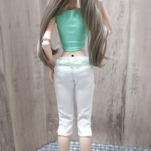 Smart Doll カラーステッチ七分丈パンツセット 新緑