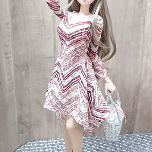Smart Doll イレギュラーヘムラインワンピース (限定)