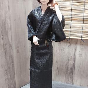 Smart Doll メンズ艶浴衣 黒