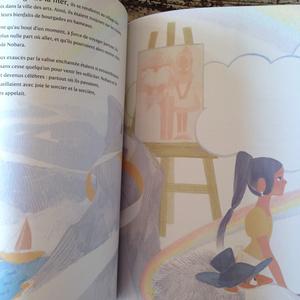 絵本「魔人とのばらの魔女」フランス語版