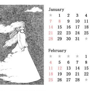 2018年1月/2月カレンダー
