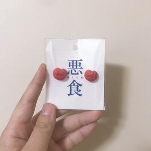 ハートちゃんマグネット【悪食】