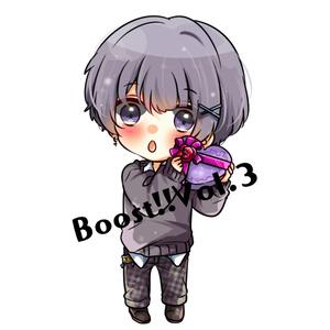 【雪代あおい】Boost!!Vol.3アクリルキーホルダー