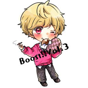 【れちり】Boost!!Vol.3アクリルキーホルダー