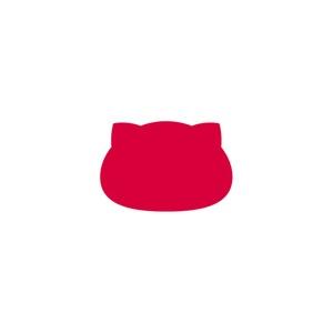 日本×猫缶バッジ にゃんこっき缶バッジその1-2/角丸長方形・国名なし