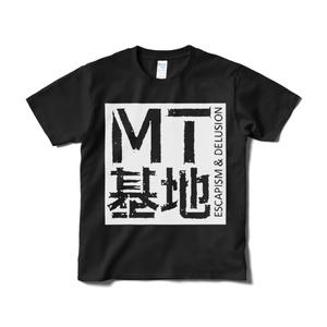 四角ロゴT(黒)