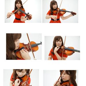 ヴァイオリンポージング資料集