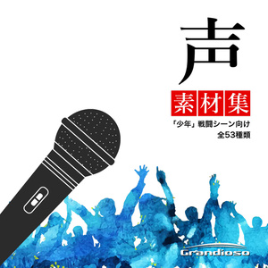 声素材集 「少年」 戦闘シーン向け vol.1