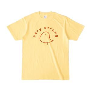 とてもつよいTシャツ-黄