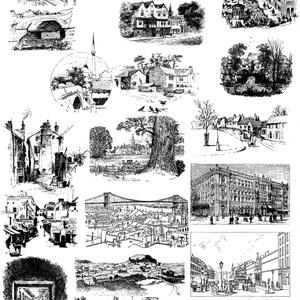 中世風素材「町」20種類