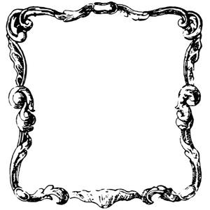 中世風素材「フレーム」15種類その2