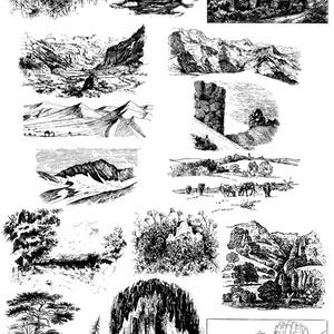 中世風素材「自然」15種類