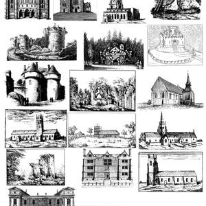 中世風素材「城、教会」20種類