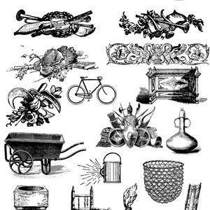 中世風素材「器具」20種類その2