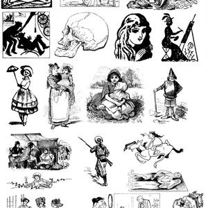 中世風素材「人物」20種類その2