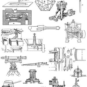 中世風素材「機構」20種類
