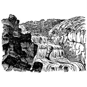 中世風素材「川」15種類