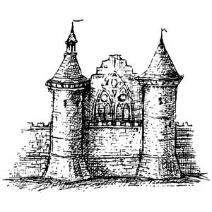 中世風素材「城、教会」20種類その2