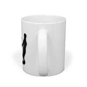 rapport ホイールチェア柄マグカップ