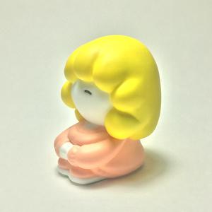 こもるちゃん レジンフィギュア ピンク-