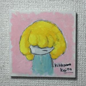 こもるちゃん キャンバス画02