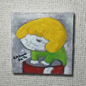 こもるちゃん キャンバス画03