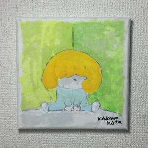 こもるちゃん キャンバス画05
