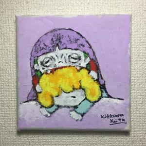 こもるちゃん キャンバス画06