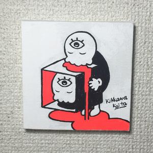 チャクラくん キャンバス画01