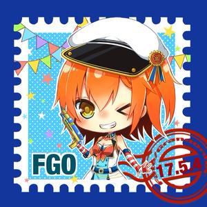 FGO マリン缶バッジ