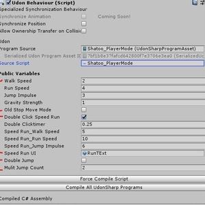 [SDK3][World]Shatoo PlayerMode