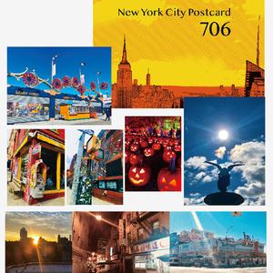 ニューヨークポストカードセット